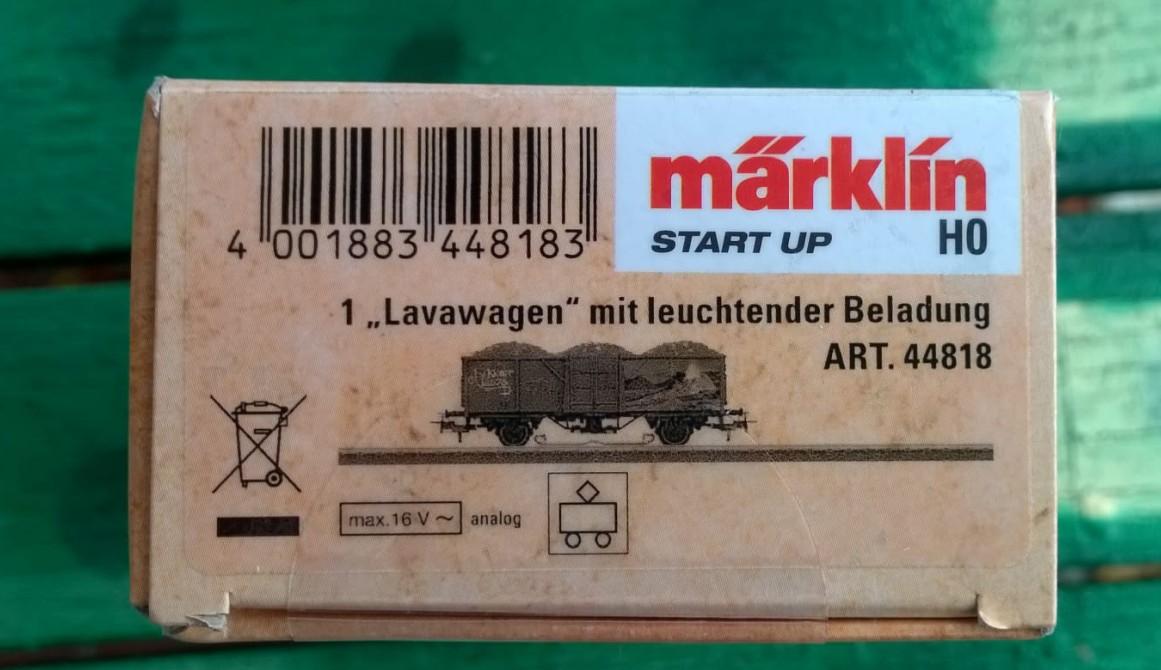 "Märklin 44818 H0 Start Up Jim Knopf /""Lavawagen/"" mit leuchtender Beladung NEU OVP"
